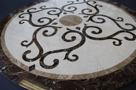 Marble Medallions in Los Angeles   Marble Flooring Designs