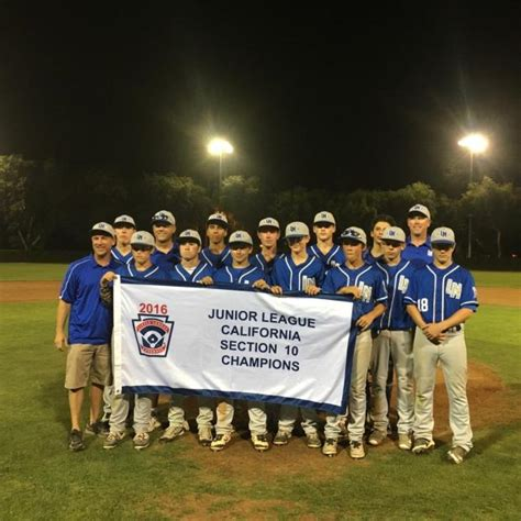 section 10 little league tournament laguna niguel little league caps off successful season