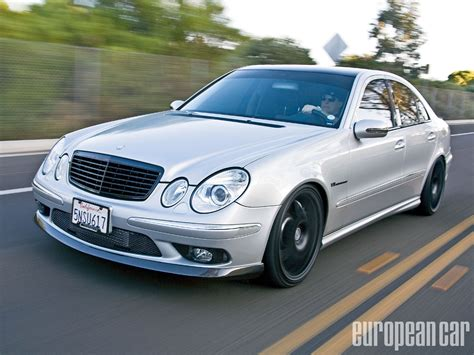 e55 mercedes amg 2005 mercedes e55 amg european car magazine view