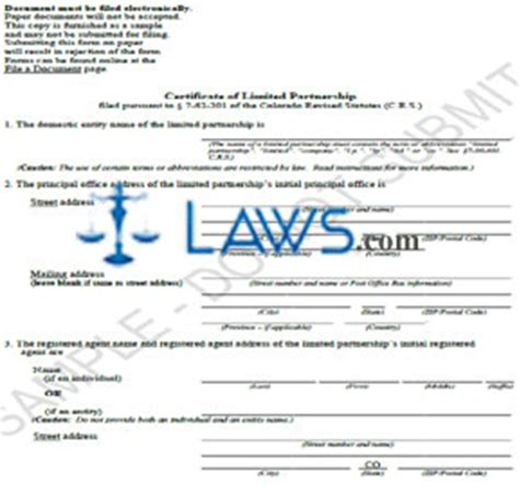 certificate of partnership template forms forms power of attorney form