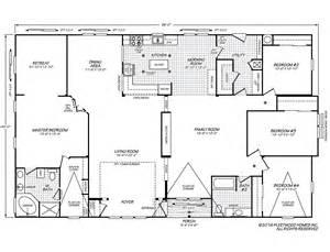 fleetwood manufactured home floor plans vogue ii 40664b fleetwood homes