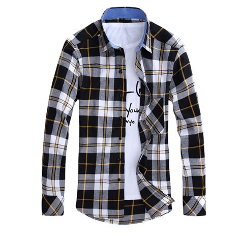 Kemeja Flannel Tartan Blue buy wholesale mens flannel plaid shirts from china mens flannel plaid shirts wholesalers