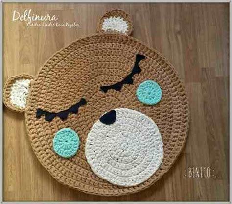 alfombra oso crochet alfombra oso crochet clasf
