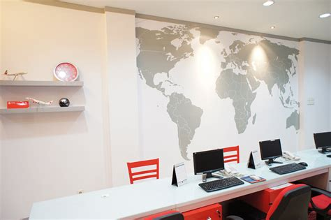 travel office interior design