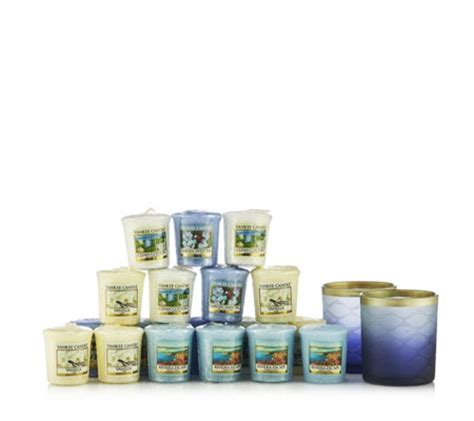 Yankee Candle Votive Holder Qvc by Yankee Candle Twilight Dusk Holders With 18 Votives Qvc Uk