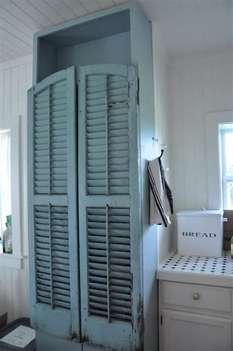 upcycling window shutters nifty homestead