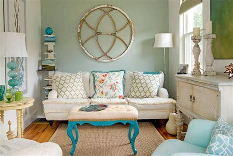 Sepasang Bantal Mobil Shabby Chic Blue Tosca untuk rumah masa depanmu 10 design ruang tamu mungil ini siap ditiru