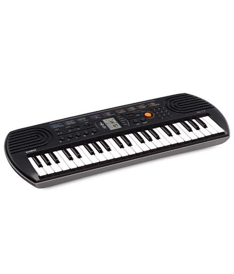 casio sa 77 mini keyboard buy casio sa 77 mini keyboard at best price in india on snapdeal