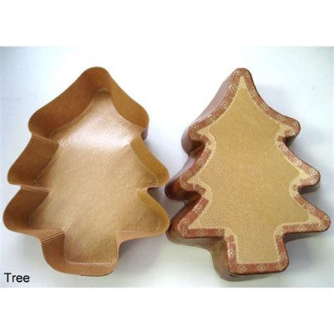 large christmas tree paper baking mold 320 case z vn