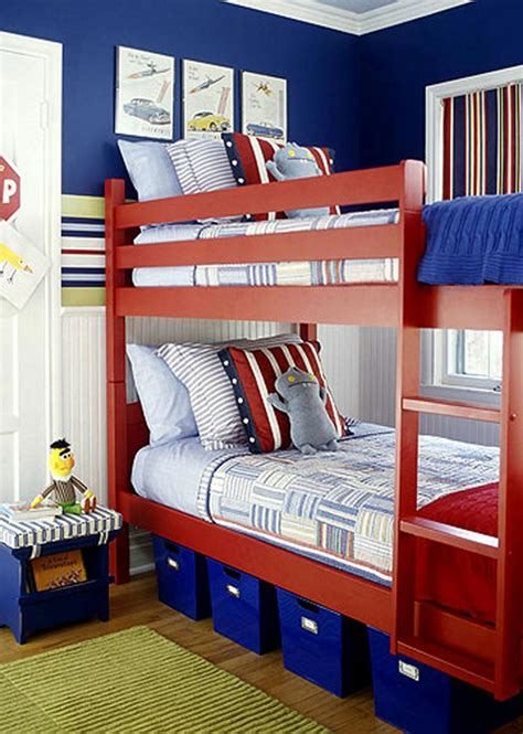 boys blue and red bedroom bedroom minimalist picture of blue boy bedroom decoration