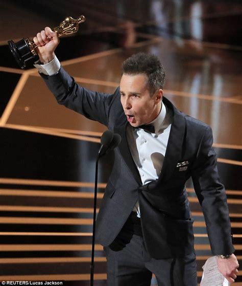 sam rockwell viola davis oscars 2018 sam rockwell wins best supporting actor