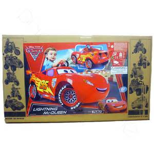 Disney Lightning Mcqueen Electric Car Disney Cars 2 Lightning Mcqueen Car 6v Electric Ebay