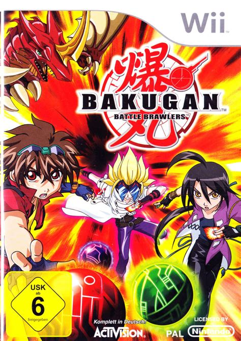 bakugan battle brawlers bakugan battle brawlers for nintendo ds 2009 mobygames