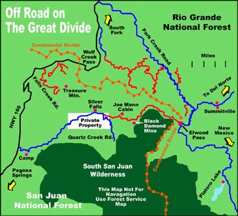 map of colorado pagosa springs pagosa springs road map pagosa springs colorado