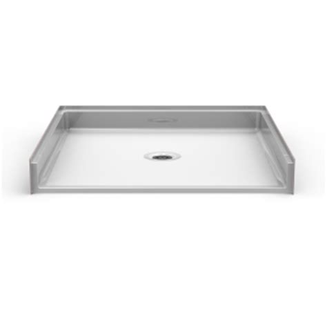 best bath shower pans barrier free shower pan seamless 48x48 best bath showroom