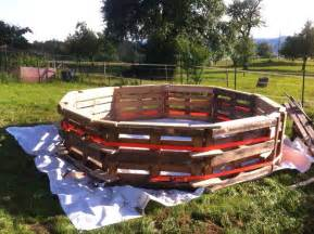 pool schwimmbad this diy pallet swimming pool is for any backyard