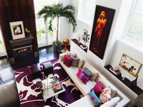 modern colorful living room ideas bold modern living room diego alejandro rincon hgtv
