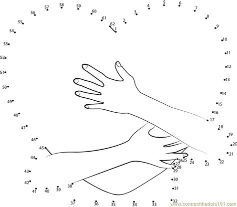 printable valentine dot to dot heart in arms dot to dot printable worksheet connect the