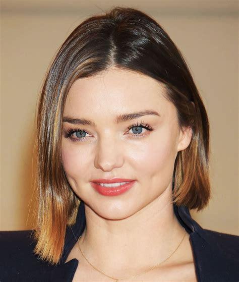 Miranda Hair Color 3 miranda kerr chopped hair see new cut