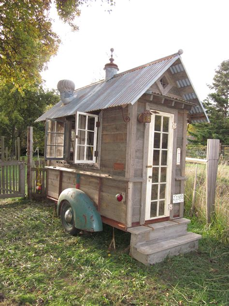 vintage home love how to build a rustic kitchen table island rustic shed tiny house swoon
