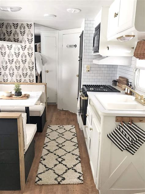 budget friendly farmhouse camper small