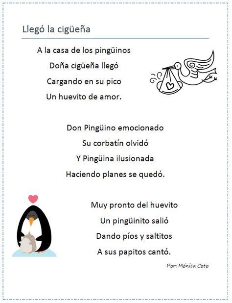 poemas infantil 83 best poemas infantiles images on pinterest classroom