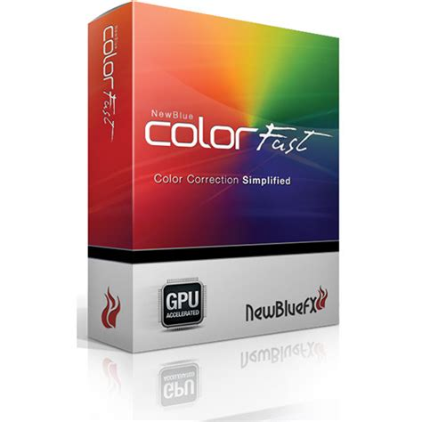 color fast newbluefx colorfast plugin colorfast promo b h photo