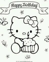 happy birthday coloring pages hello kitty print out coloring pages of dolphin with hello kitty