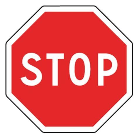 Lu Stop L Avanza panneaux routier stop ab4 panneaux de signalisations