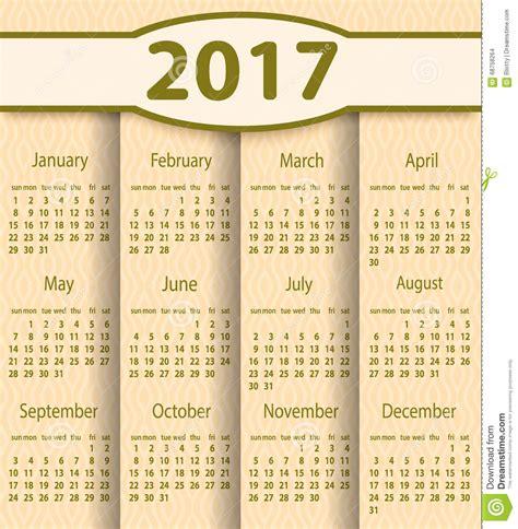 printable calendar 2017 with week numbers printable