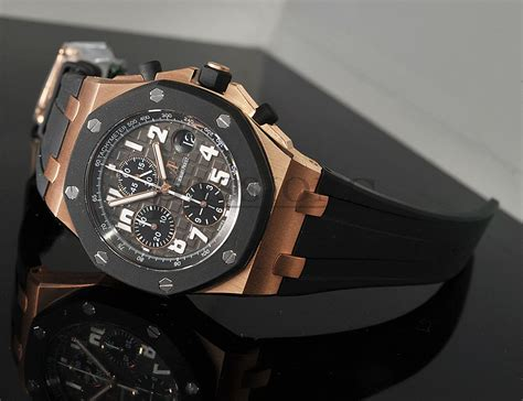 Audemars Piguet Clone Ap Rubber Clad audemars piguet 42mm quot royal oak shore quot rubber clad chronograph ref 25940ok oo d002ca 02 in