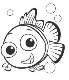 free printable nemo coloring pages for