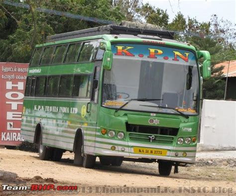 Kpn Travels Sleeper by Intercity Buses Operated By Various Travels And
