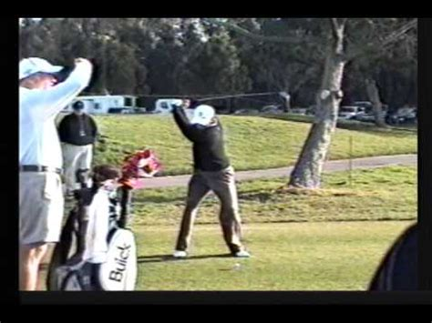 tiger woods swing vision swing vision sergio garcia 2009 1wd slow motion by carl