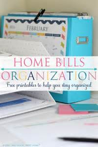 organize bills organizing your bills four generations one roof
