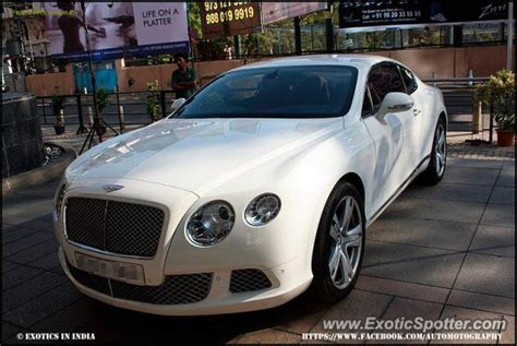 Bentley Continental Spotted In Bangalore India On 05 04 2013