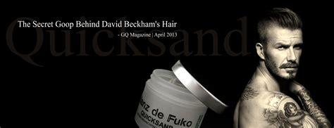 beckham hair wax introducing hanz de fuko styleicons