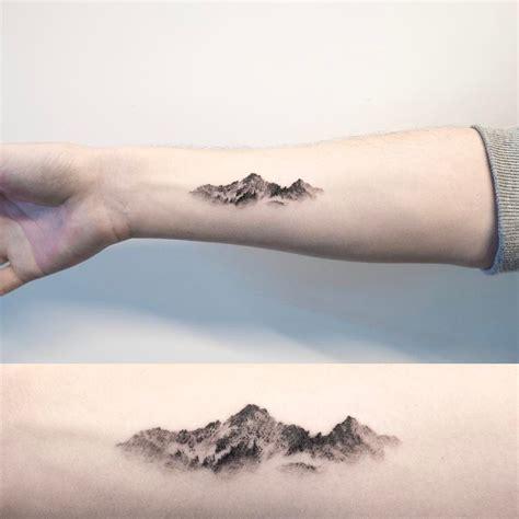 Oriental Mountain Tattoo | mountain oriental painting mountaintattoo tattoo