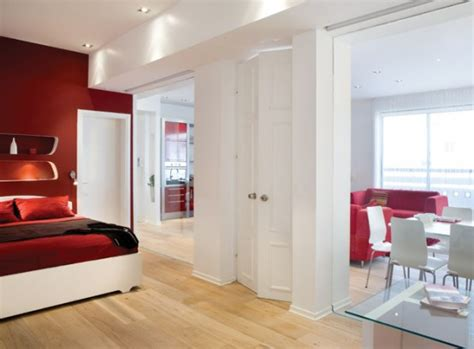 apartment interior decorating red white apartment interior decor digsdigs