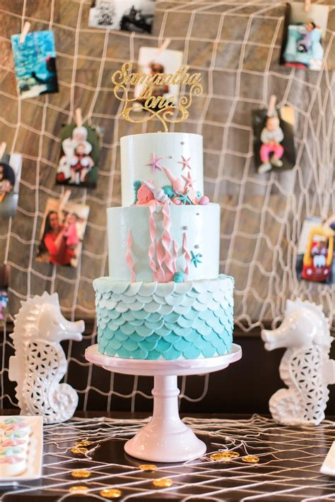 kara s party ideas mermaids amp pirates birthday party