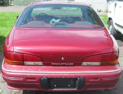 how to sell used cars 1992 pontiac bonneville parking system sell used 1992 pontiac bonneville se 3 8 l v6 engine 4 dr