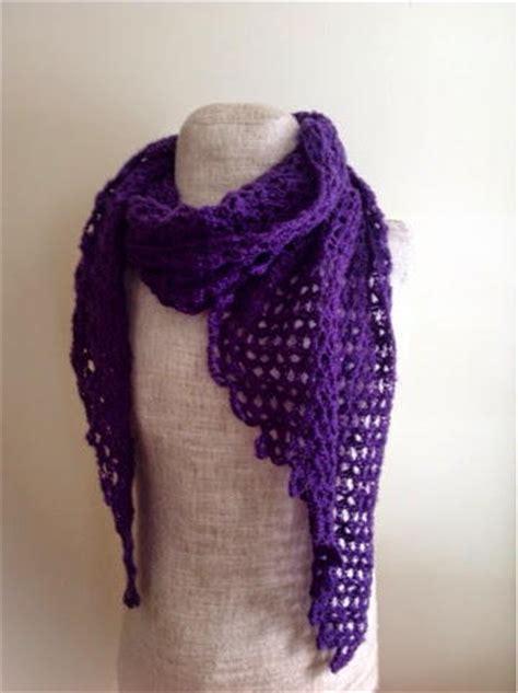 geometric scarf crochet pattern allfreecrochet