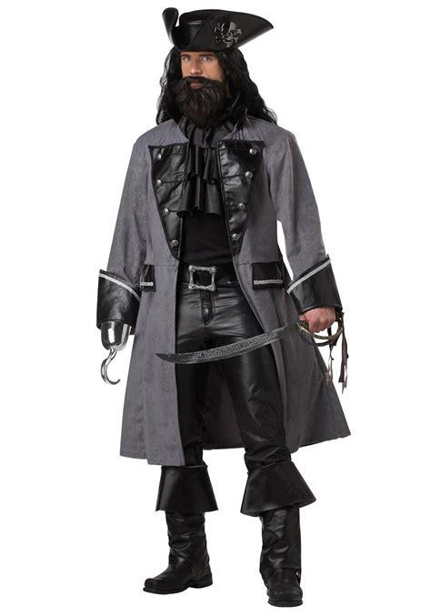 blackbeard costume for men mens blackbeard pirate costume