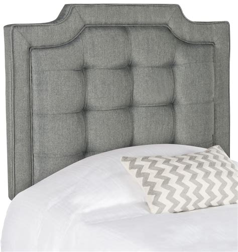 Tufted Linen Headboard by Sapphire Grey Tufted Linen Headboard Headboards