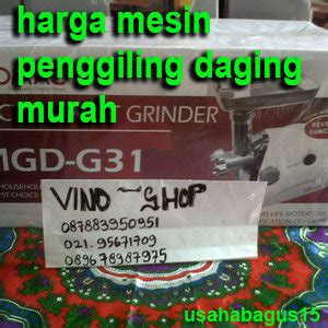 Mesin Penggiling Daging Grinder Fomac Mgd G31 Giling Daging daftar harga mesin penggiling daging murah contoh