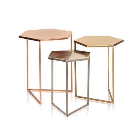 Hexagon Side Table Hexagonal Coffee Table Honeycomb Table Mirror Coffee Table Ideas