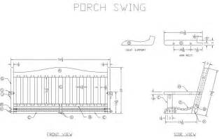 Porch Blueprints Learn How To Build A Wooden Porch Swing Free Woodworking
