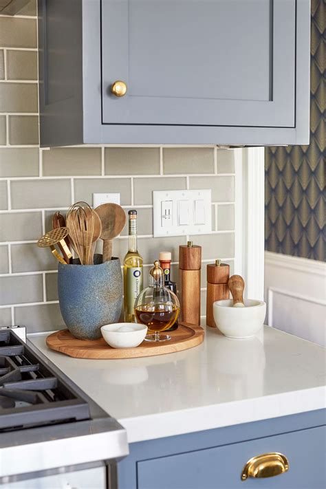 decorating ideas for kitchen counters 5 ways to style an ugly renter s kitchen rental kitchen