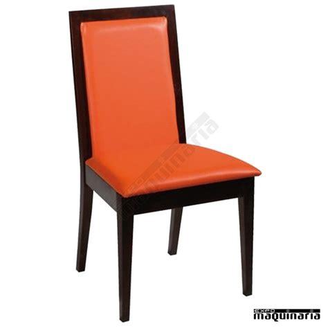 silla madera tapizada familan hosteleria de madera y