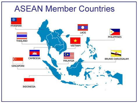 south east countries map time to invest in association of south east asian nations